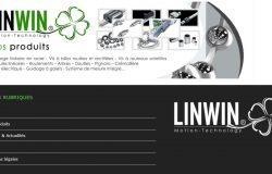 Création du site internet LINWIN