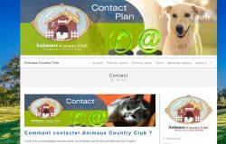 Création du site internet chenil garde animaux