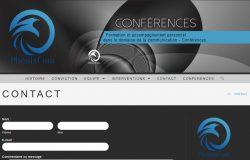 Création du site internet formation