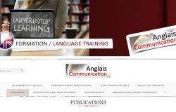 Création du site internet traduction anglais français